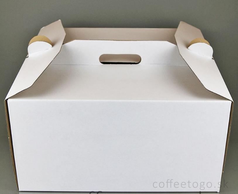 48b1590cb6 Krabica na tortu (s uškom) 35x35x18cm   1 k